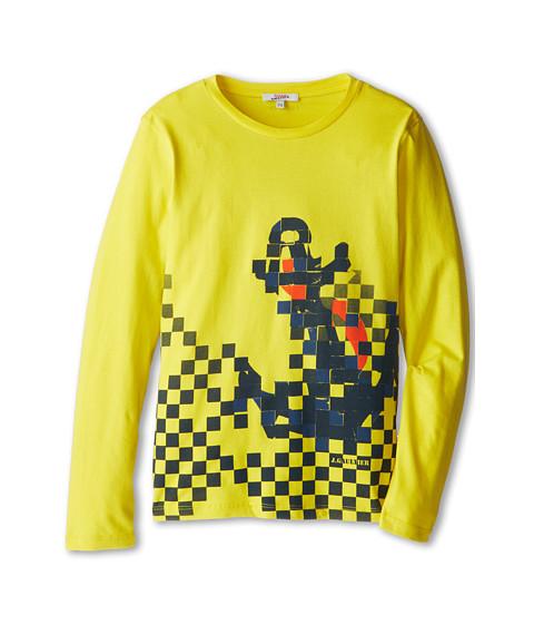 Junior Gaultier - Milian Tee Shirt (Big Kid) (Jaune Acide) Boy's T Shirt