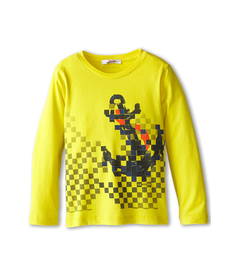 Junior Gaultier - Milian Tee Shirt (Infant/Toddler/Little Kid) (Jaune Acide) Boy's T Shirt