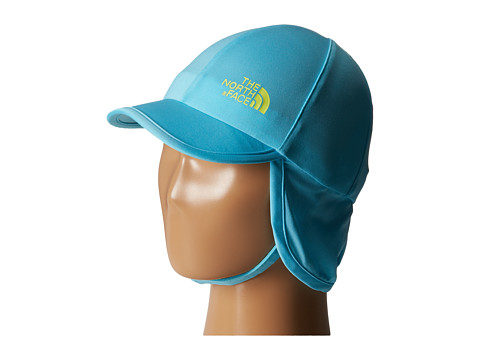 The North Face Kids - Baby Sun Buster Hat (Fortuna Blue/Hamachi Yellow) Caps