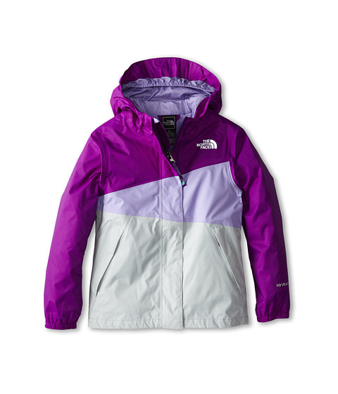 The North Face Kids - Caiman Rain Jacket (Little Kids/Big Kids) (Iris Purple) Girl's Coat