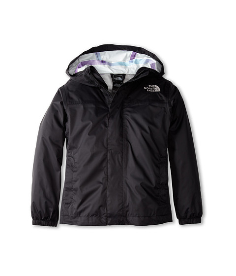 The North Face Kids - Girls' Zipline Rain Jacket (Little Kids/Big Kids) (TNF Black) Girl's Coat