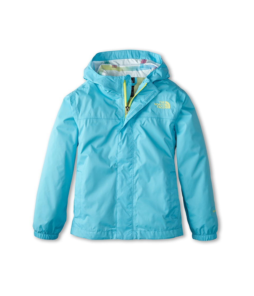 The North Face Kids - Girls' Zipline Rain Jacket (Little Kids/Big Kids) (Fortuna Blue) Girl's Coat