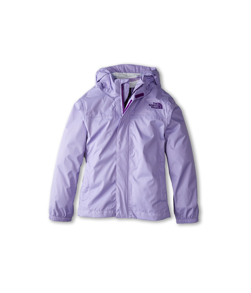The North Face Kids - Girls' Zipline Rain Jacket (Little Kids/Big Kids) (Violet Tulip Purple) Girl's Coat