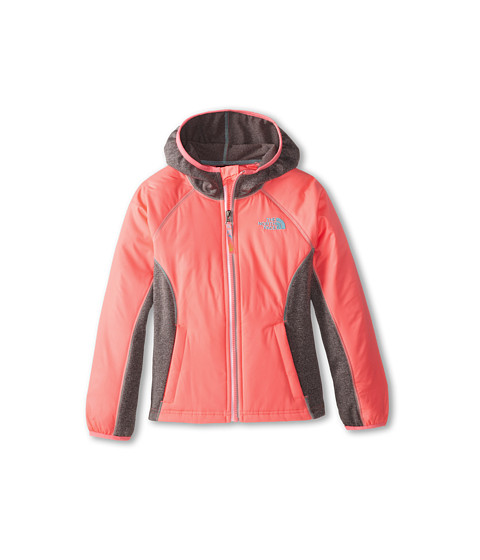 The North Face Kids - Petrel Hybrid Wind Jacket (Little Kids/Big Kids) (Sugary Pink) Girl's Coat