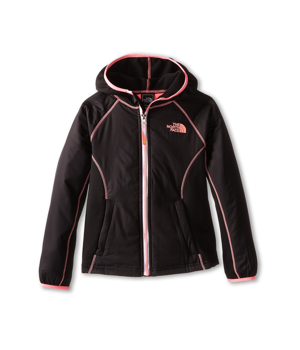The North Face Kids - Petrel Hybrid Wind Jacket (Little Kids/Big Kids) (TNF Black) Girl's Coat