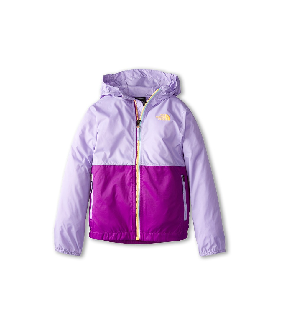 The North Face Kids - Flurry Wind Hoodie (Little Kids/Big Kids) (Violet Tulip Purple) Girl's Coat
