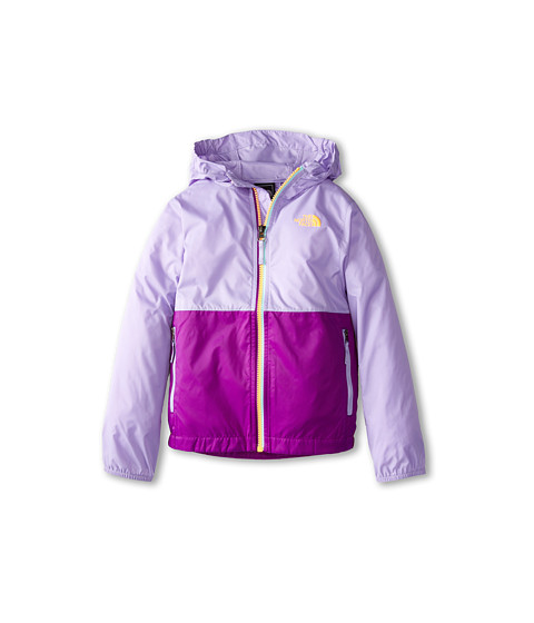 The North Face Kids - Flurry Wind Hoodie (Little Kids/Big Kids) (Violet Tulip Purple) Girl's Coat