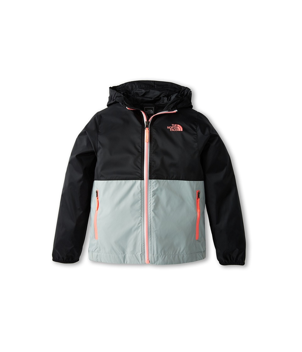 The North Face Kids - Flurry Wind Hoodie (Little Kids/Big Kids) (TNF Black) Girl's Coat