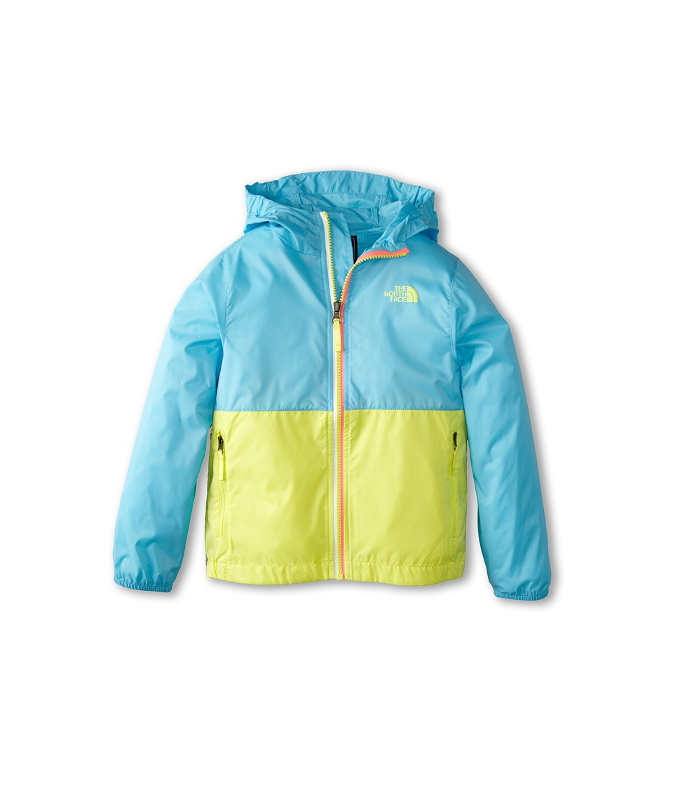 The North Face Kids - Flurry Wind Hoodie (Little Kids/Big Kids) (Fortuna Blue) Girl's Coat