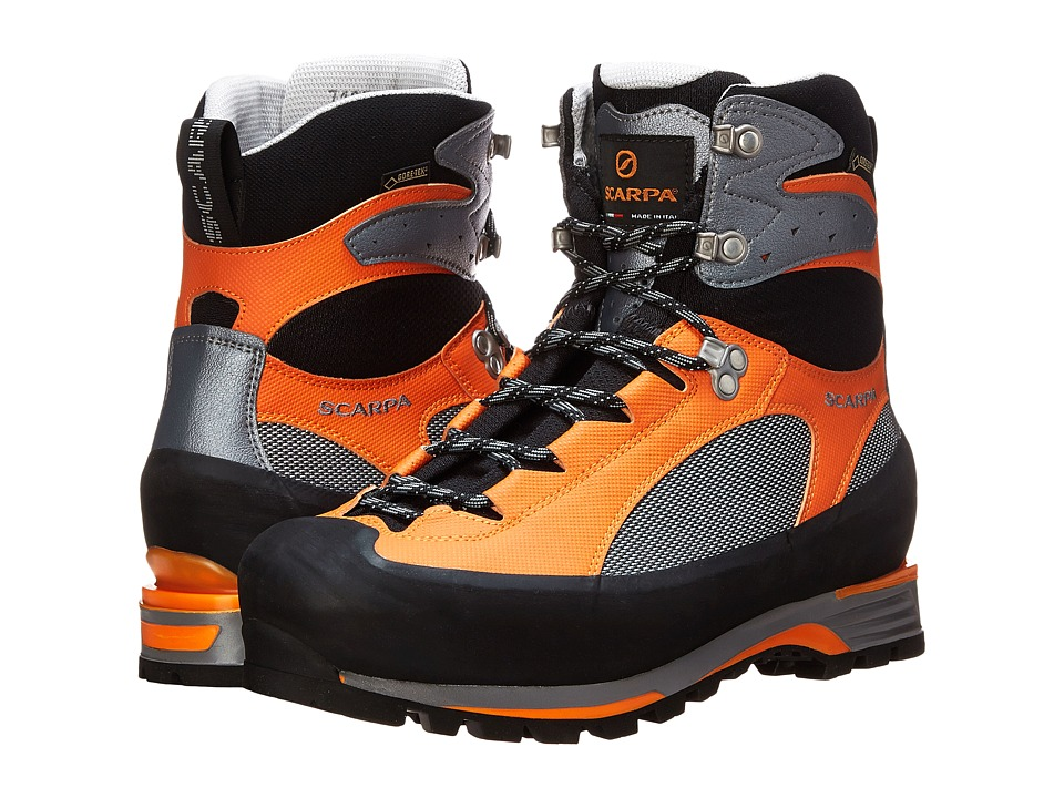 Scarpa - Charmoz PRO GTX (Grey/Orange) Men's Lace-up Boots