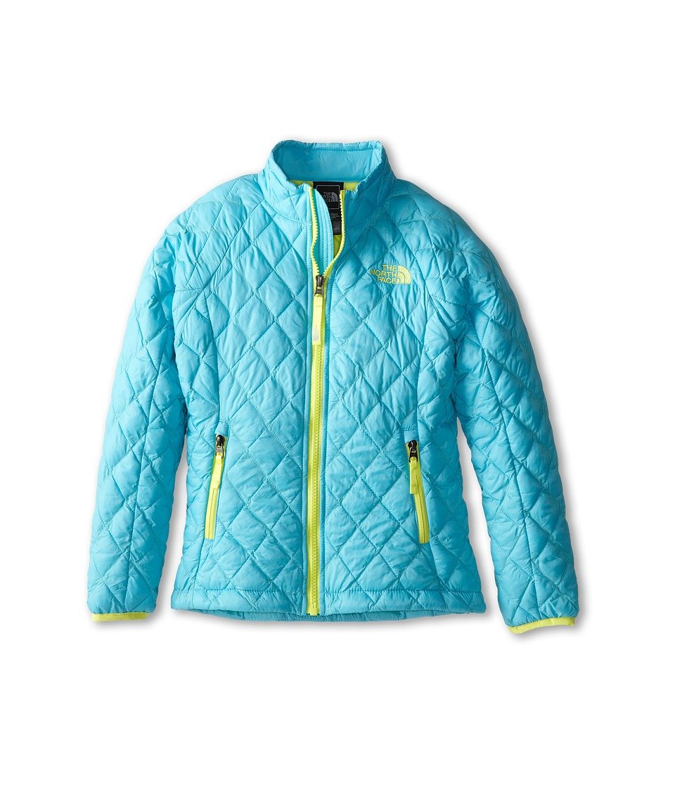 The North Face Kids - Thermoball Full Zip Jacket (Little Kids/Big Kids) (Fortuna Blue) Girl's Coat