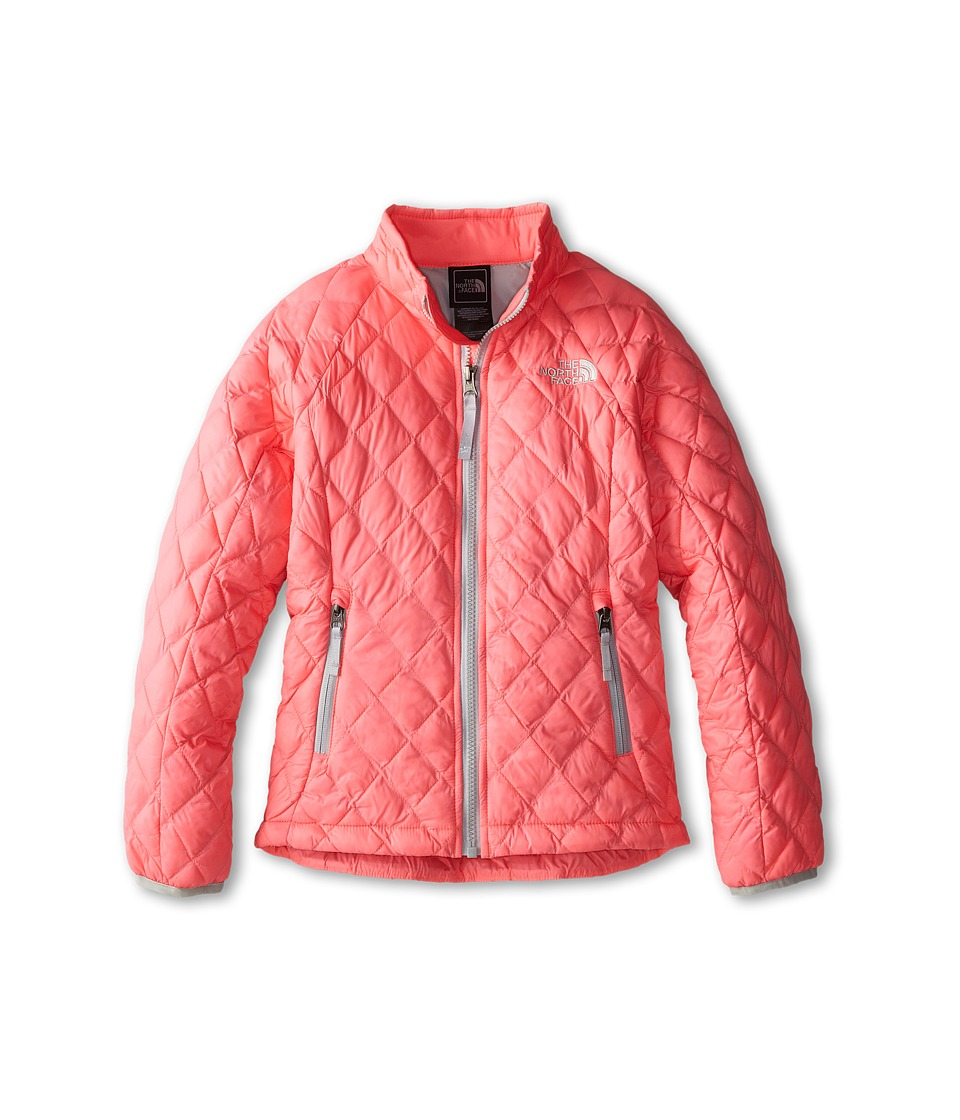 The North Face Kids - ThermoBall Full Zip Jacket (Little Kids/Big Kids) (Sugary Pink) Girl's Coat