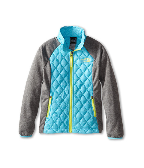 The North Face Kids - ThermoBall Hybrid (Little Kids/Big Kids) (Fortuna Blue) Girl's Coat