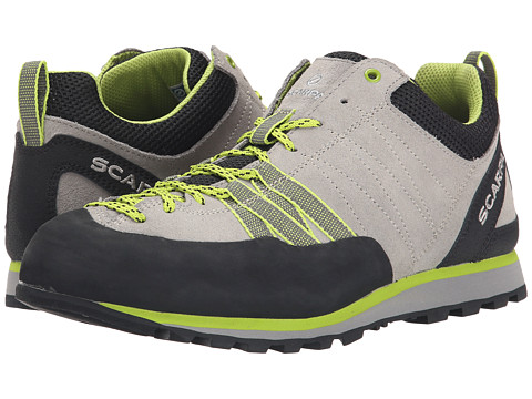Scarpa - Crux (Oyster/Green Glow) Women's Shoes