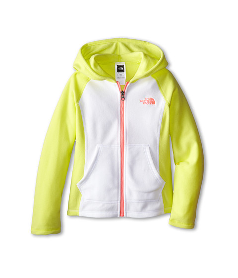 The North Face Kids - Glacier Full Zip Hoodie (Little Kids/Big Kids) (Hamachi Yellow) Girl's Sweatshirt