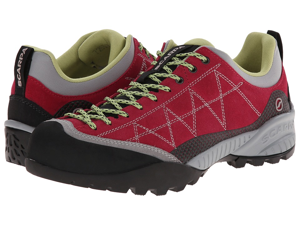 Scarpa - Zen Pro (Cherry/Lime) Women's Shoes