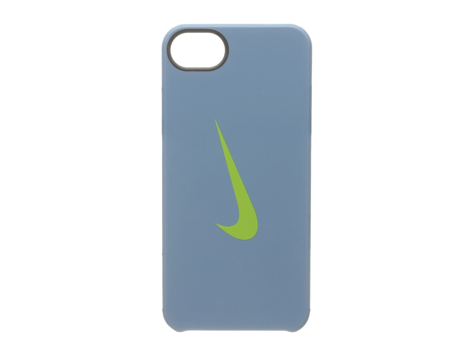 Nike - Classic Hard Phone Case iPhone 5/5s Lanyard Set (Stadium Blue/Action Green) Cell Phone Case