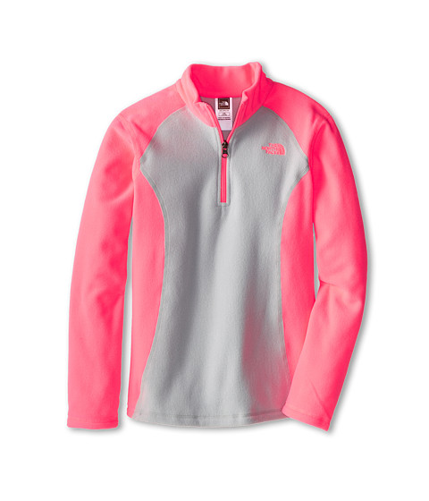 The North Face Kids - Glacier 1/4 Zip (Little Kids/Big Kids) (Sugary Pink) Girl