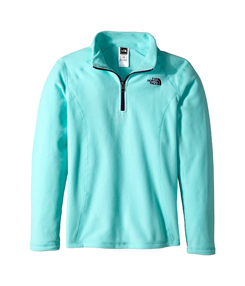 The North Face Kids - Glacier 1/4 Zip (Little Kids/Big Kids) (Bonnie Blue) Girl's Sweatshirt