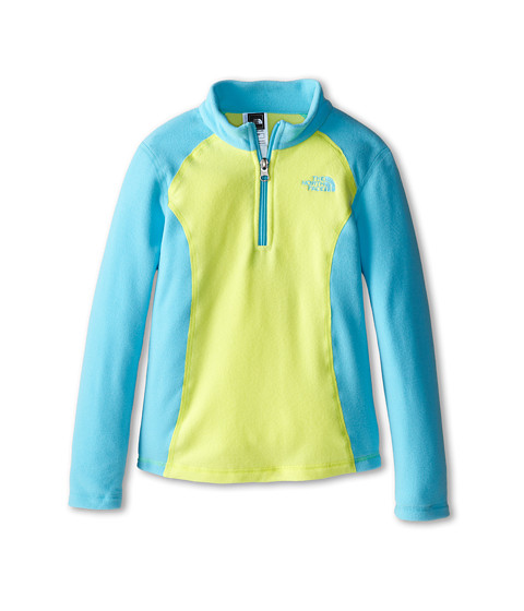 The North Face Kids - Glacier 1/4 Zip (Little Kids/Big Kids) (Fortuna Blue) Girl's Sweatshirt