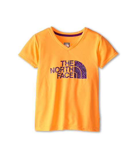 The North Face Kids - Argali S/S Hike Tee (Little Kids/Big Kids) (Vitamin C Orange) Girl