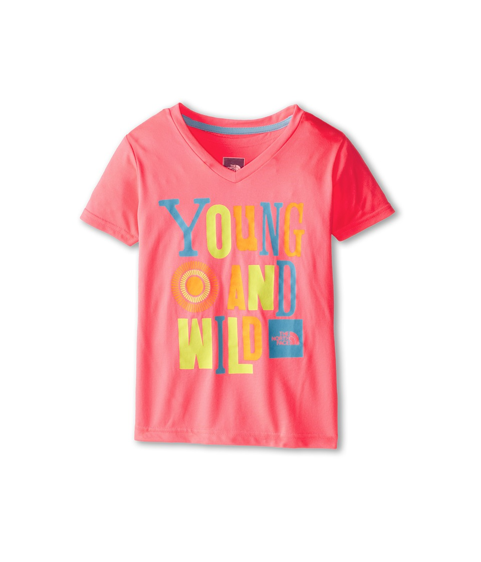 The North Face Kids - Argali S/S Hike Tee (Little Kids/Big Kids) (Sugary Pink) Girl's Short Sleeve Pullover