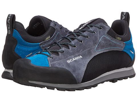 Scarpa - Oxygen GTX (Black/Iron Grey) Men's Shoes