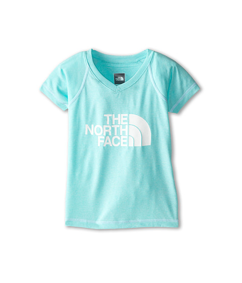The North Face Kids - Moksha Perf Tee (Little Kids/Big Kids) (Bonnie Blue) Girl