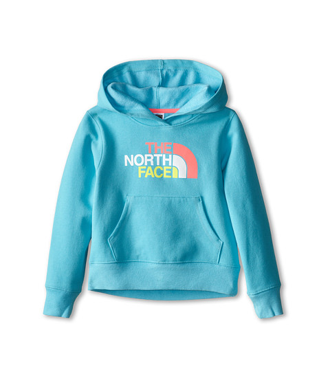 The North Face Kids - Multi Half Dome Pullover Hoodie (Little Kids/Big Kids) (Fortuna Blue) Girl's Sweatshirt