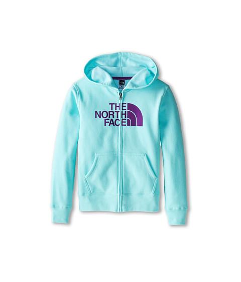 The North Face Kids - Half Dome Full Zip Color Block Hoodie (Little Kids/Big Kids) (Bonnie Blue) Girl's Sweatshirt