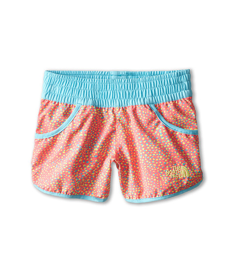 The North Face Kids - Dogpatch Print Water Short (Little Kids/Big Kids) (Fortuna Blue/Sugary Pink Multi Print) Girl's Shorts