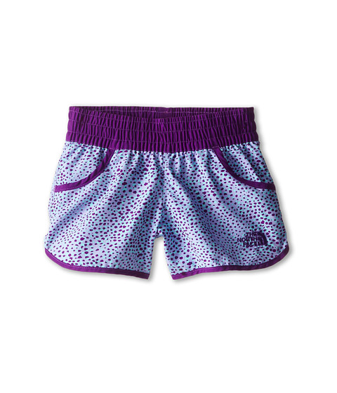 The North Face Kids - Dogpatch Print Water Short (Little Kids/Big Kids) (Iris Purple) Girl
