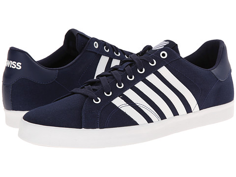 K-Swiss - Belmont SO T (Navy/White) Men's Tennis Shoes