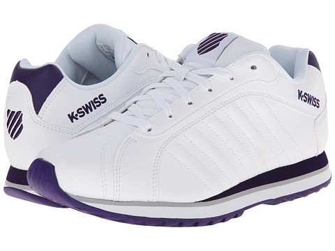 K-Swiss - Verstad III S (White/Parachute Purple) Women's Shoes