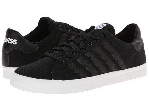K-Swiss - Belmont SO T (Black/White) Women