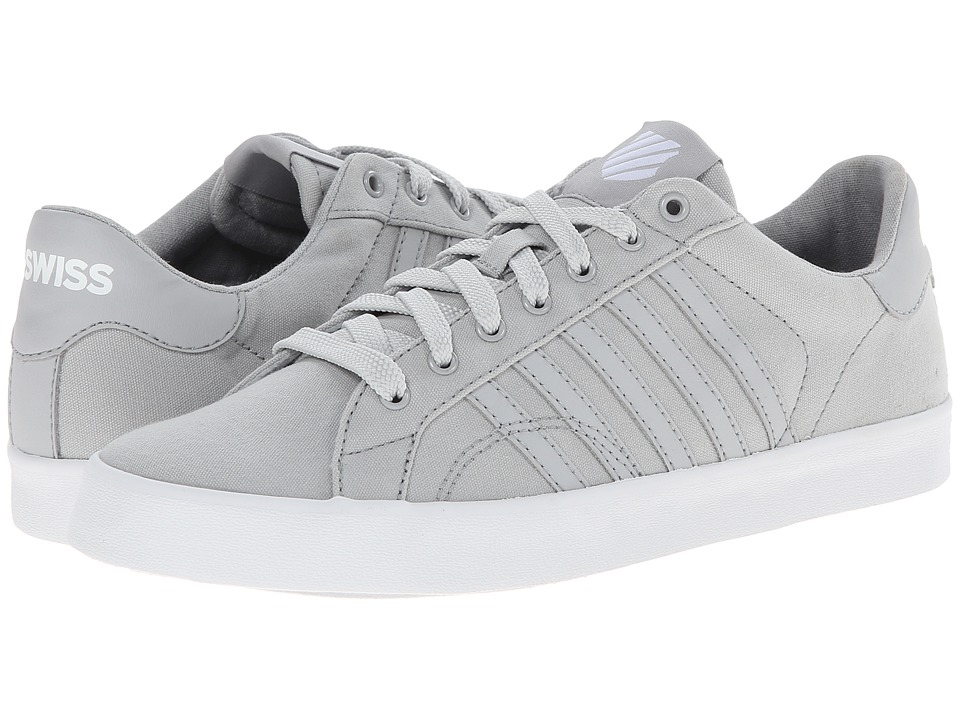 K-Swiss - Belmont SO T (Gull Gray/White) Women