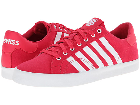 K-Swiss - Belmont SO T (Raspberry/White) Women's Tennis Shoes