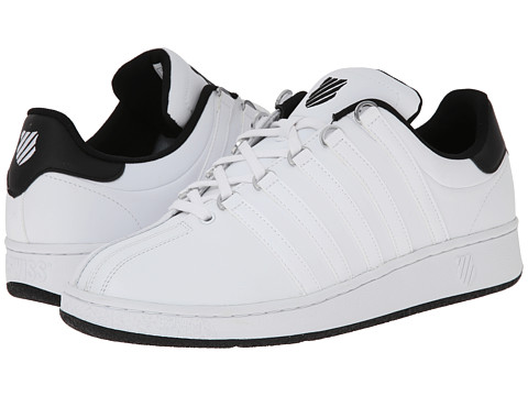 K-Swiss - Classic VN (White/Black/White) Men's Shoes