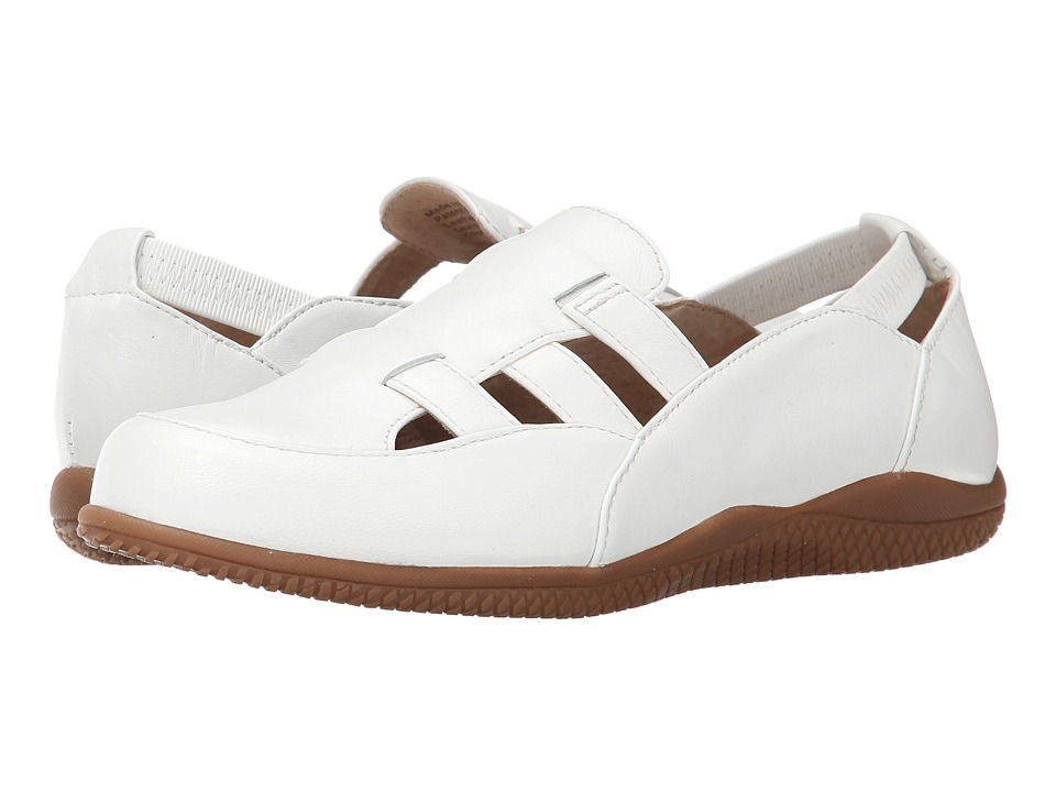 SoftWalk Hampton (White Soft Dull Leather) Women