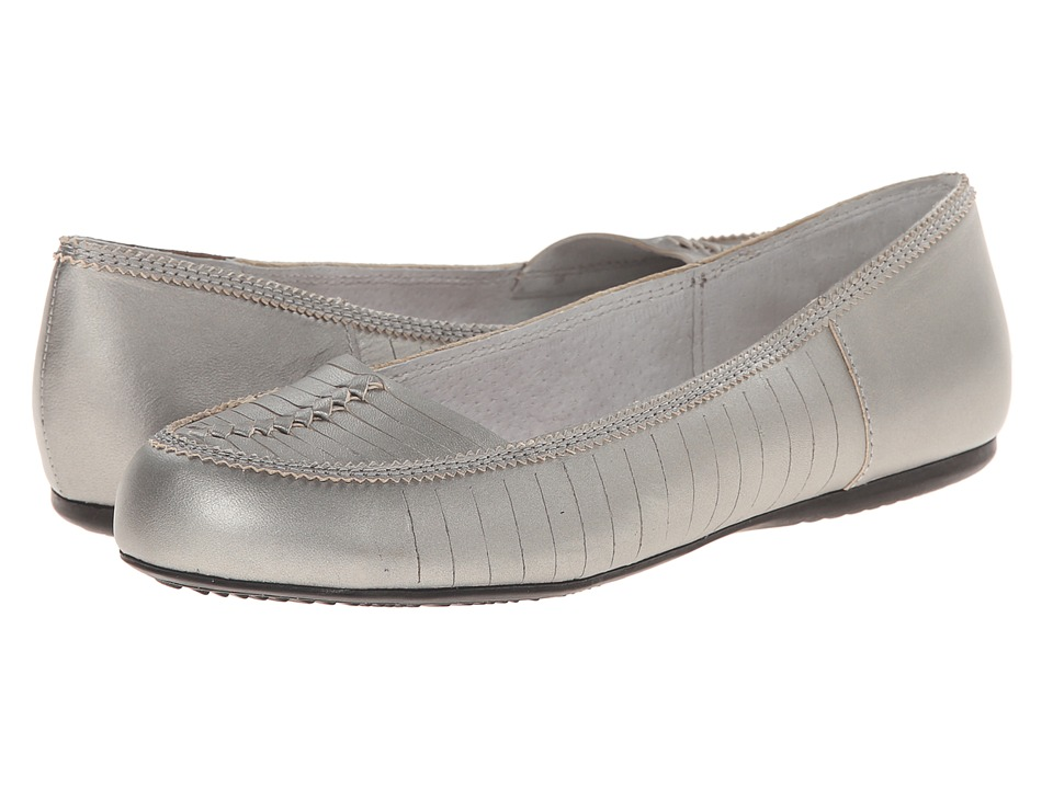 SoftWalk Natchez (Silverwash Metallic Soft Nappa Leather) Women