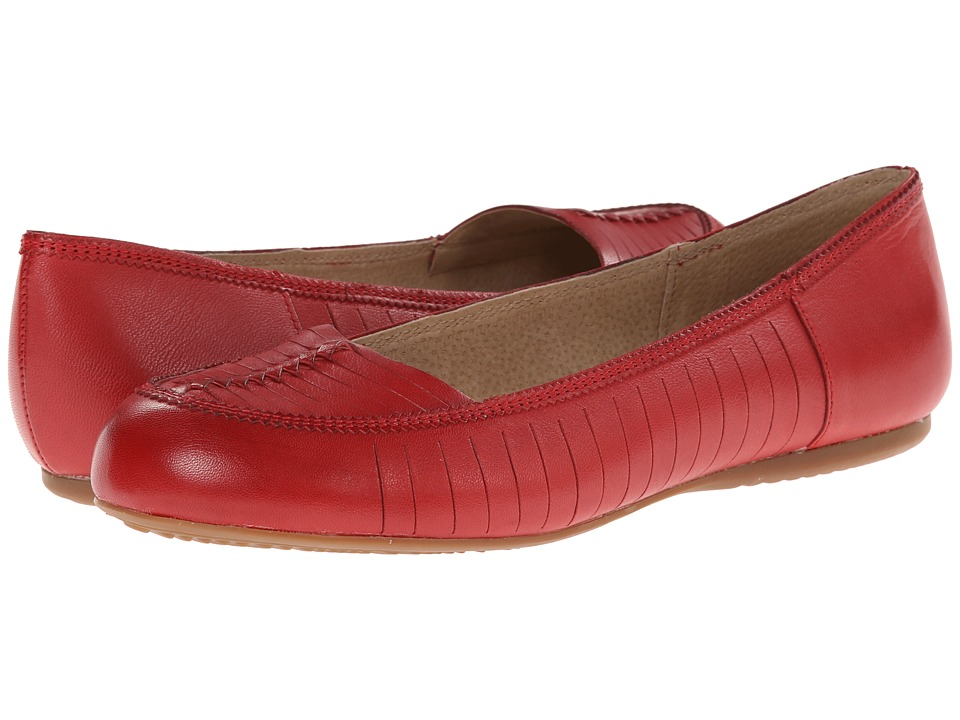 SoftWalk - Natchez (Red Soft Kid Leather) Women