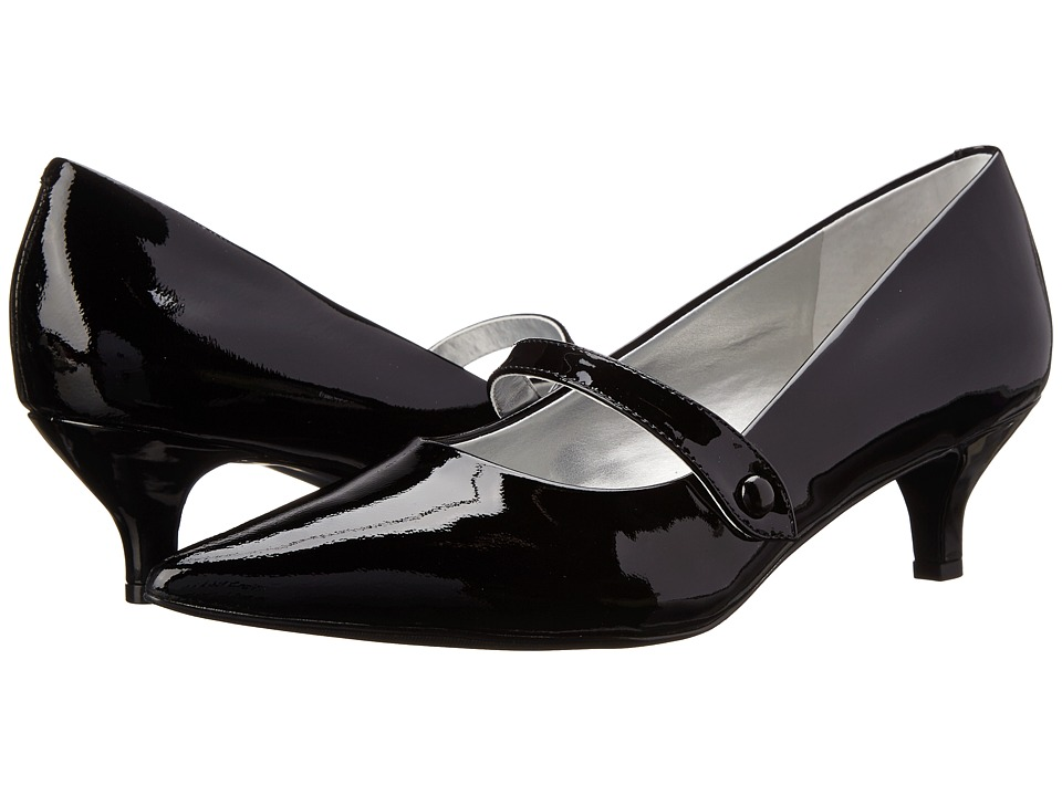 Trotters Petra (Black Patent Leather) Women
