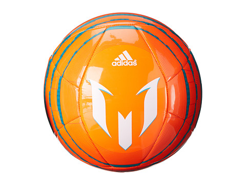 adidas - Messi Glider Q1 (Solar Orange/Bold Orange/Power Teal) Athletic Sports Equipment