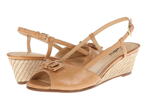 Trotters - Milly (Sand Soft Dull Leather) Women's Wedge Shoes