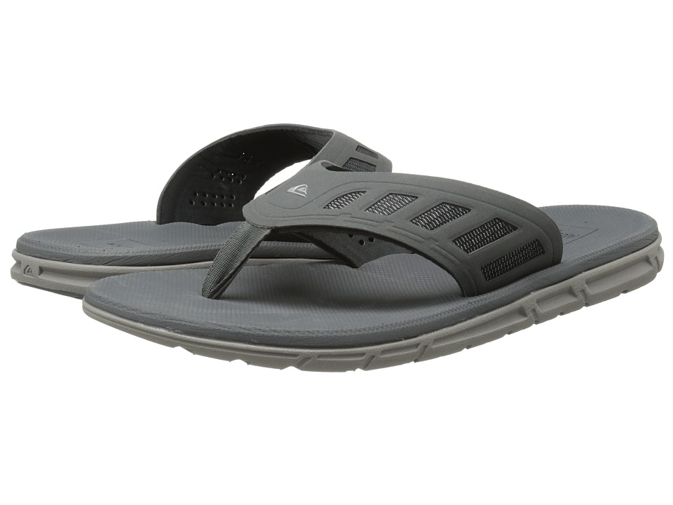 Quiksilver - AG47 Flux (Gray Solid) Men's Sandals
