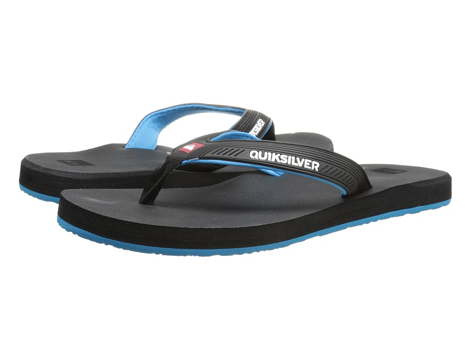Quiksilver - Meditation (Black/Blue/Black) Men's Sandals