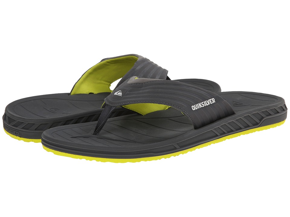 Quiksilver - Triton (Gray Solid) Men's Sandals