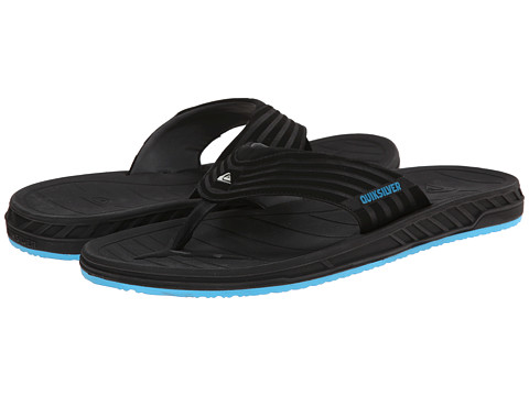 Quiksilver - Triton (Black/Black/Blue) Men