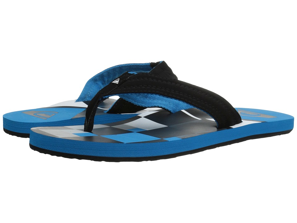 Quiksilver - Basis (Blue/Black/White) Men's Sandals