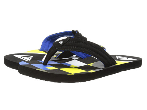 Quiksilver - Basis (Black/Green/Blue) Men's Sandals